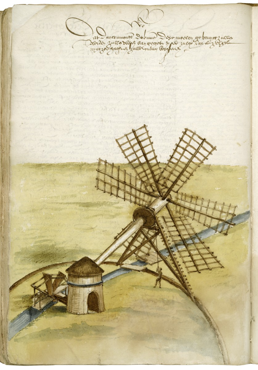 Wetlands windmill