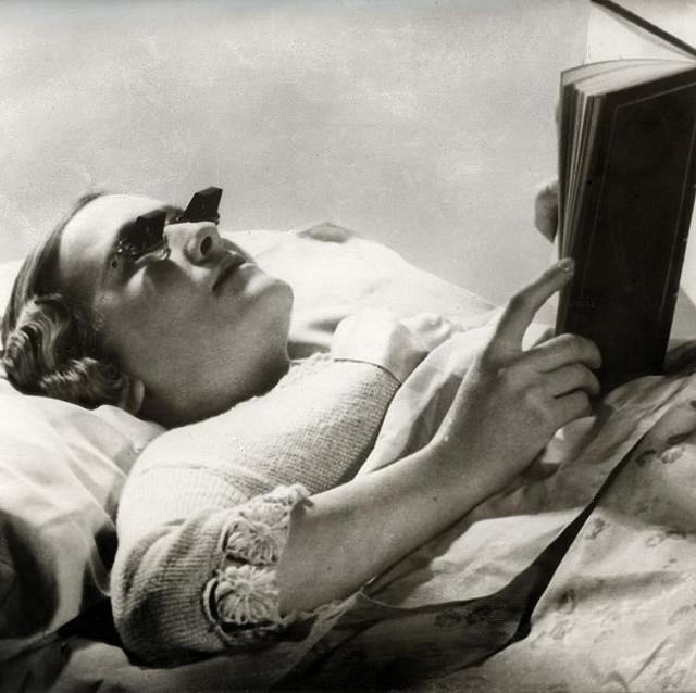 Hamblin glasses for reading in bed