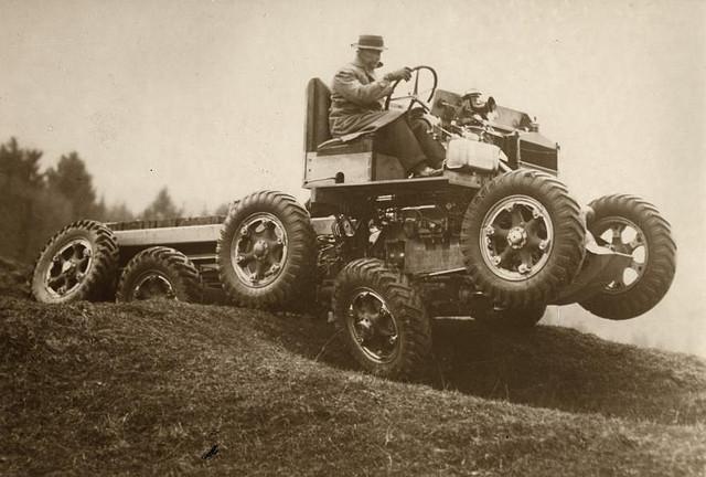 All-terrain car