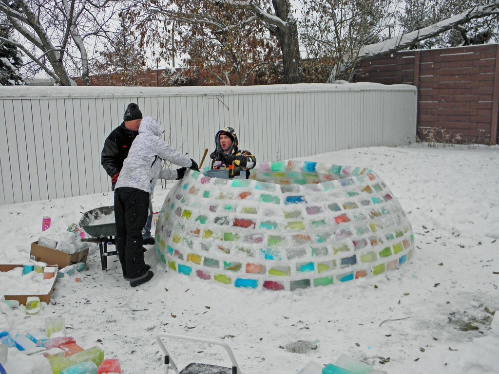 Is that an igloo?