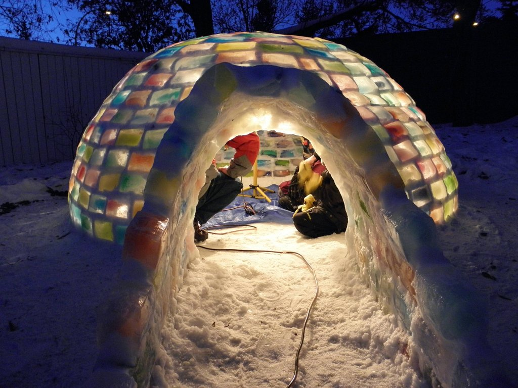 It looks incredibly cozy. I want one.