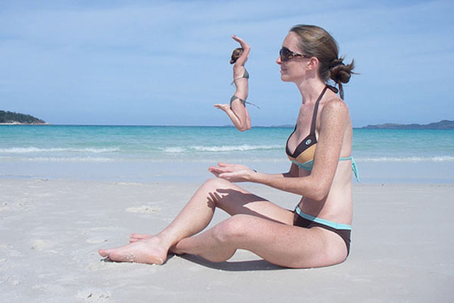 forced perspective perfect timing