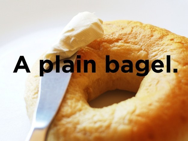 What kind of bagel can fly?