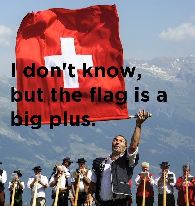 What's the best thing about living in Switzerland?