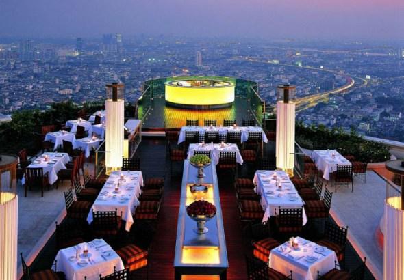 Sirocco Restaurant - Bangkok, Thailand
