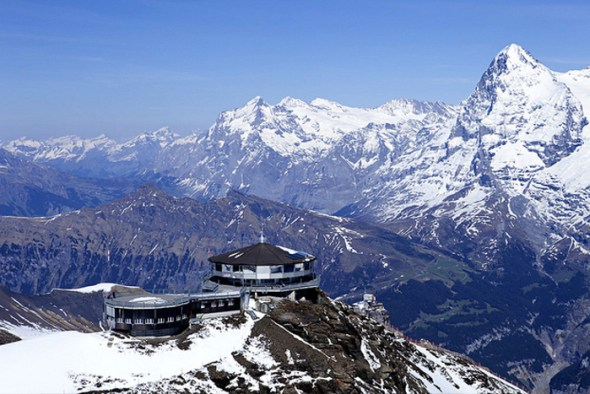 Piz Gloria Restaurant - Switzerland