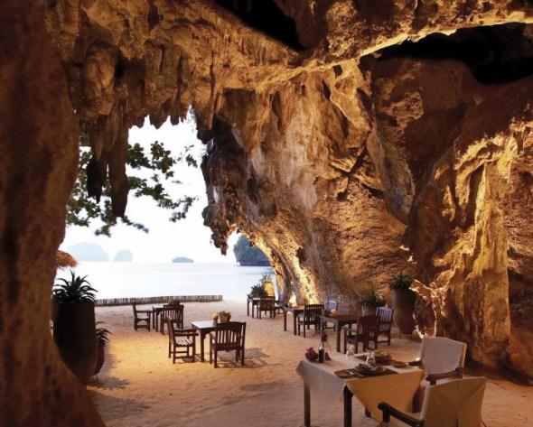 The Grotto Beach Restaurant - Thailand