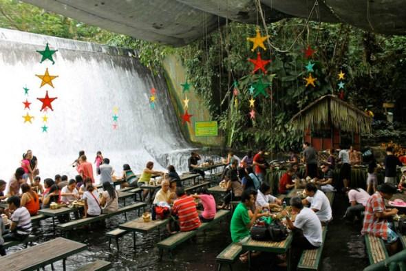 Labassin Waterfalls Restaurant - Philippines