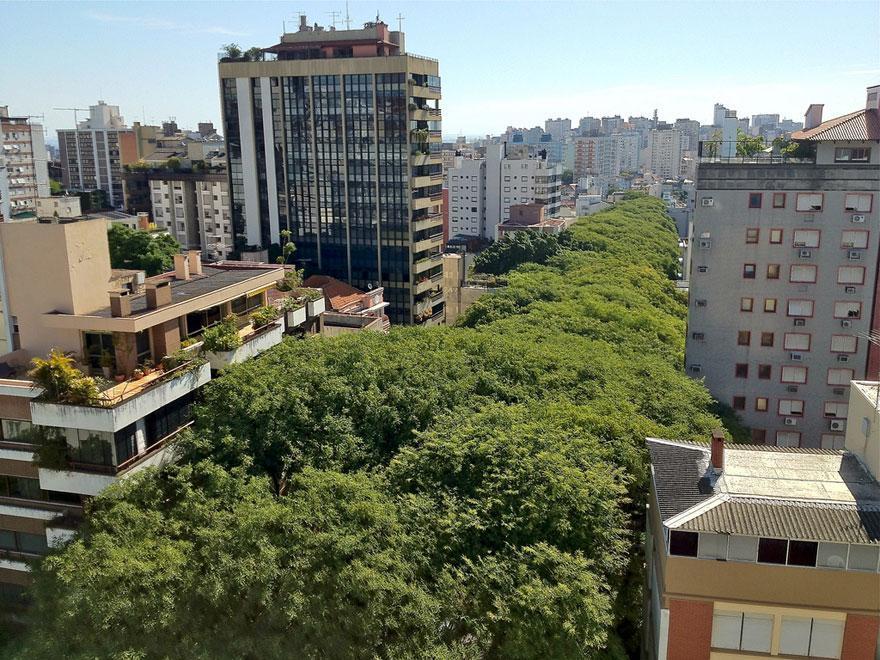 15 - Street in Porto Alegre Brazil