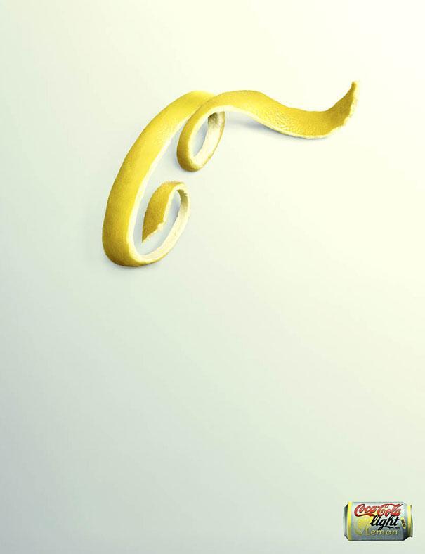 Coca-Cola Light: Lemon Peel