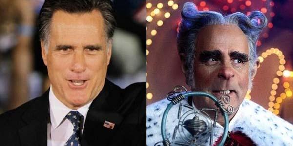 12. Mitt Romney was mayor of Whoville?