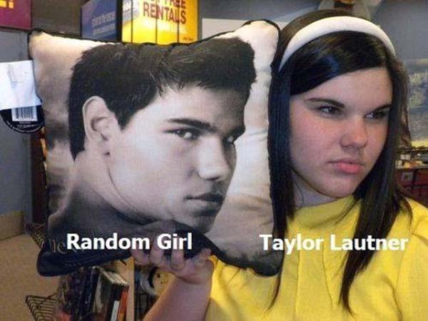 15. Tyler Lautner from Twilight looks JUST like some random girl.