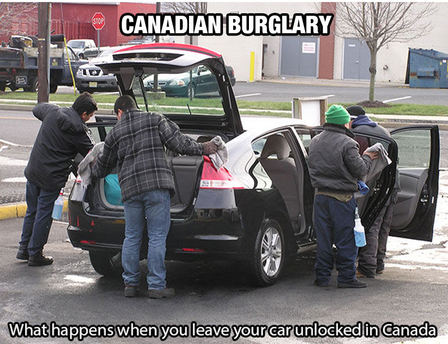funny-things-Canada-different-cleaning-car