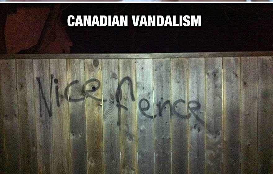 funny-things-Canada-different-fence-vandalism
