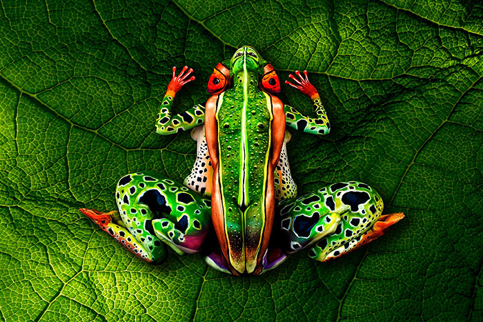 22 Humans That Look Like Animals This Is Body Art Unlike Anything You Ve Ever Seen Before Pics