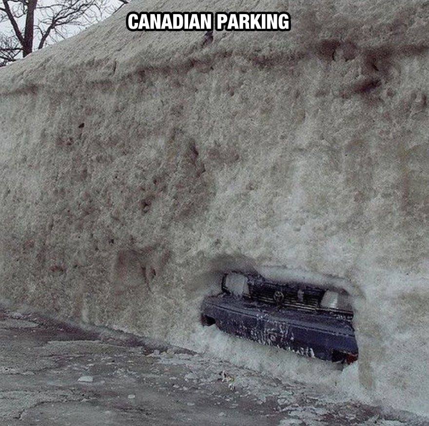 funny-things-Canada-different-car-snow