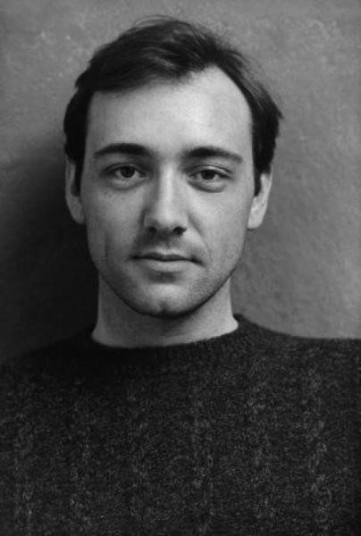 A young Kevin Spacey (1980s).