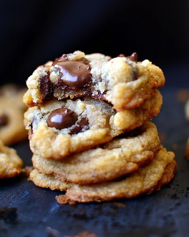 Gluten-, Egg-, and Dairy-Free Vegan Chewy Chocolate Chip Cookies