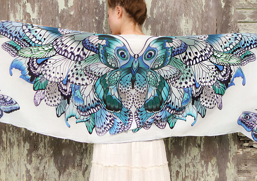 bird-scarves-wings-feather-fashion-design-shovava-11
