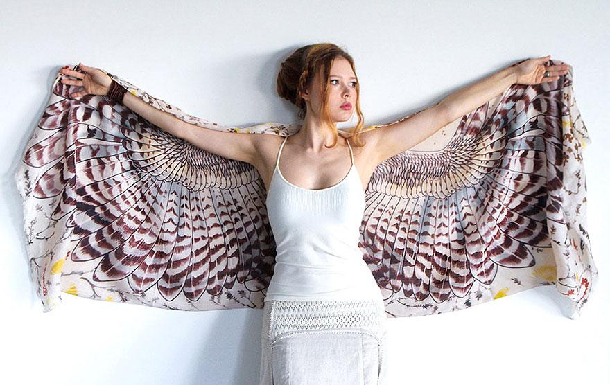 bird-scarves-wings-feather-fashion-design-shovava-5