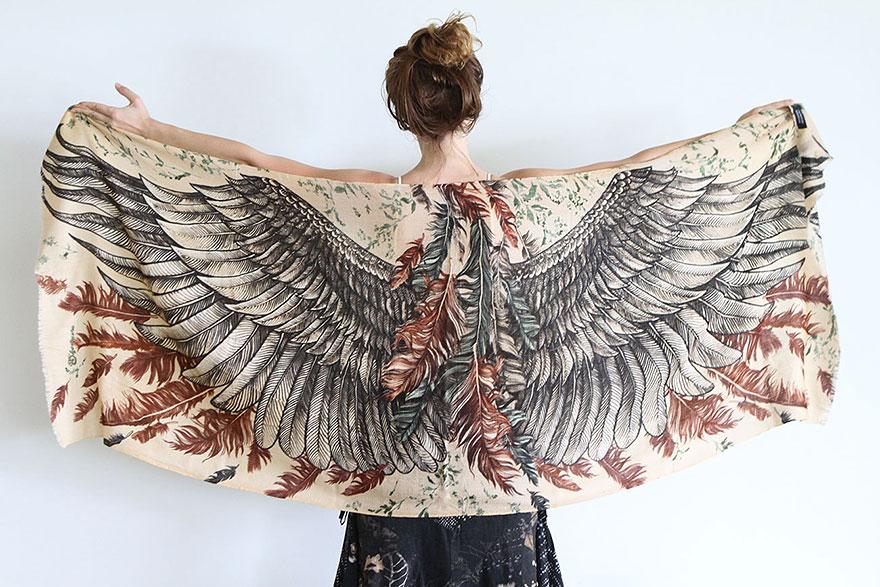 bird-scarves-wings-feather-fashion-design-shovava-6