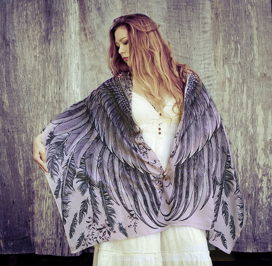 bird-scarves-wings-feather-fashion-design-shovava-7
