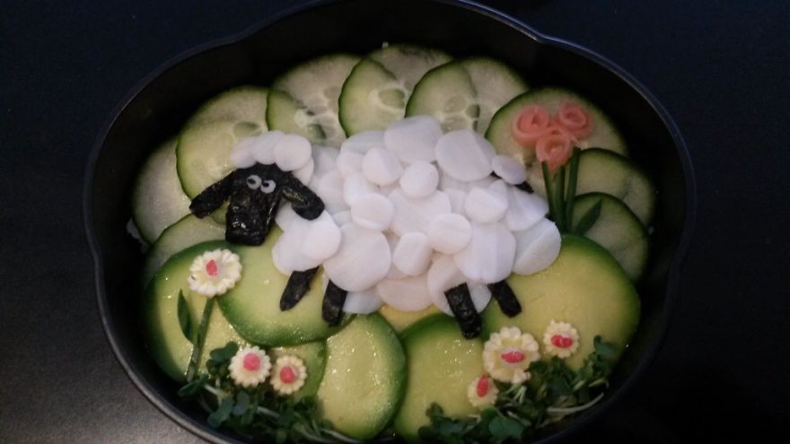 Baabaa Sheep Bento