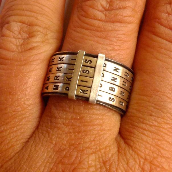 Scrabble Ring
