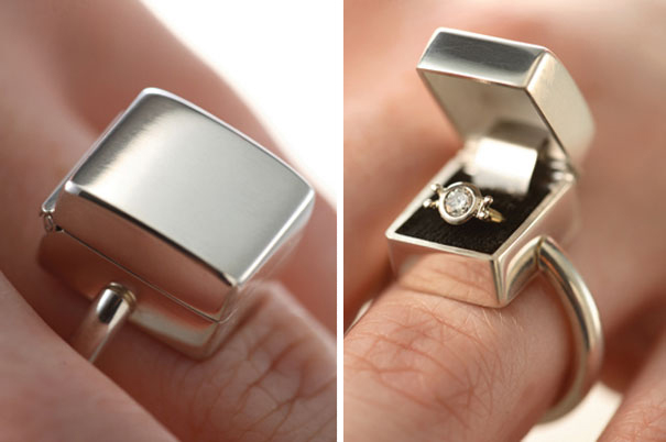 Diamond Ring In A Box