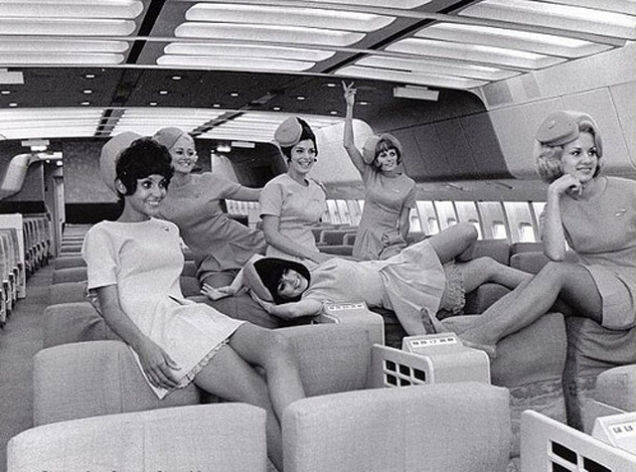 ...to a happy and fun stewardess crew.