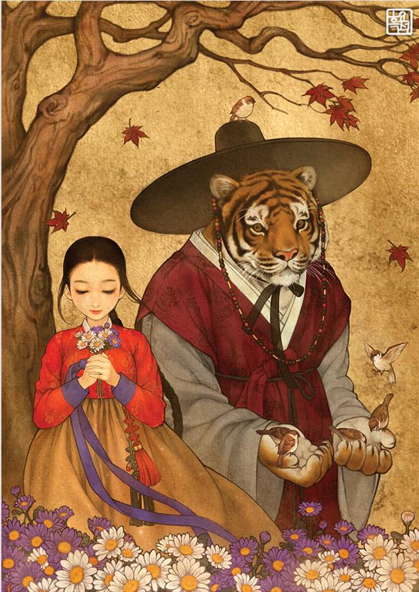 asian-korean-disney-remake-illustration-na-young-wu-6 (1)