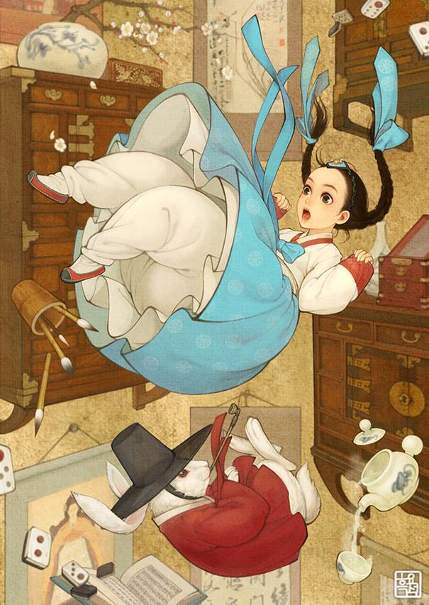 asian-korean-disney-remake-illustration-na-young-wu-7
