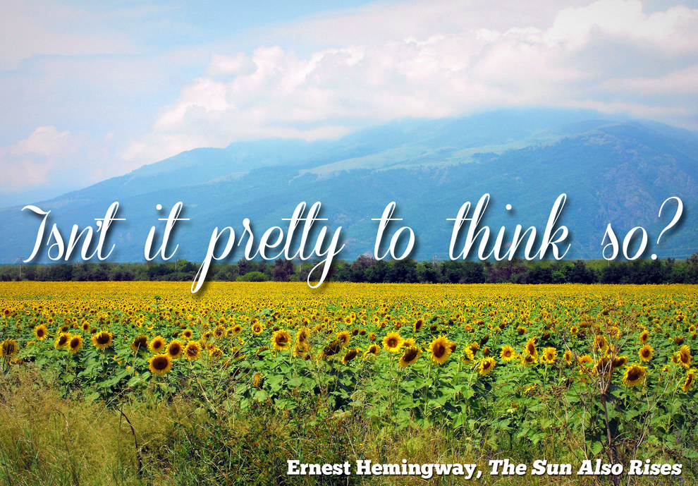 50 Of The Most Beautiful Sentences In Literature
