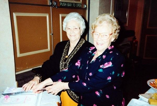 Celebrating their 78th birthday together