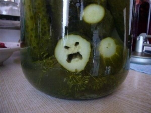 This pickle is evil