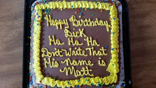 Astonishing 21 Hilarious Cake Messages That Are Winning As Theyre Failing Funny Birthday Cards Online Fluifree Goldxyz