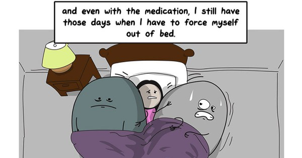 This Comic Perfectly Illustrates The Struggle Of Fighting Depression And Anxiety