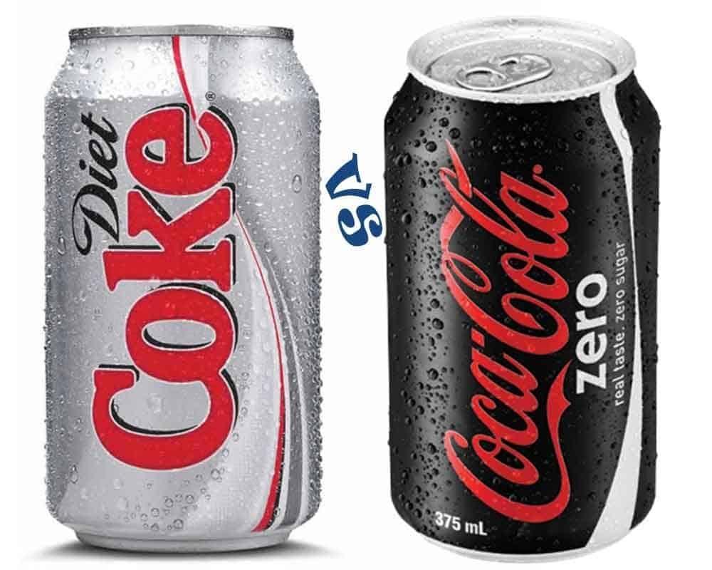 coca cola zero sugar vs diet coke tastw