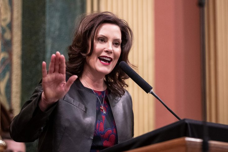 Michigan Governor Gretchen Whitmer Builds Electrified Fence Around Official Residence