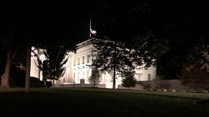 White House Flag at Half Staff