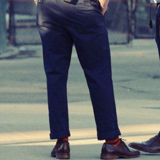 Black Pants and Dress Shoes