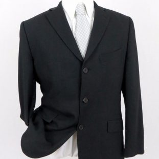 three button coat