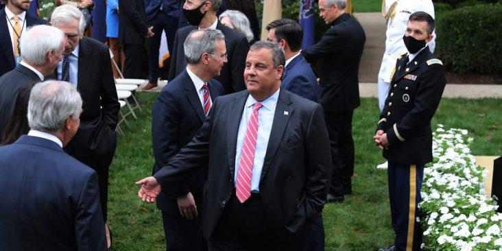 Former New Jersey Gov. Chris Christie Former New Jersey Gov. Chris Christie