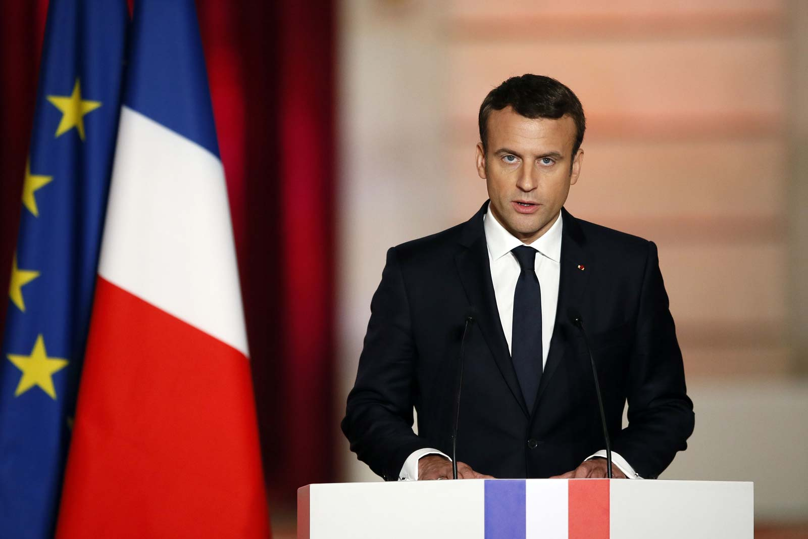 French President Macron On Biden Victory Chance To Make Our Planet Great Again