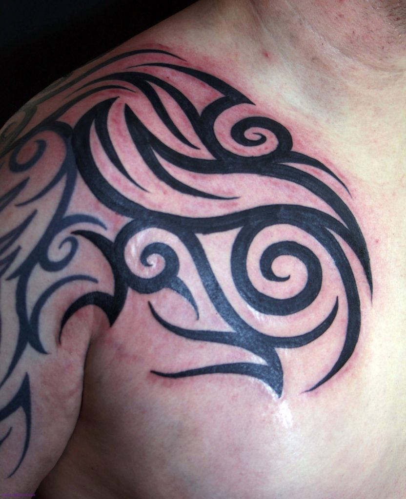 20 Badass Shoulder Tattoos for Men