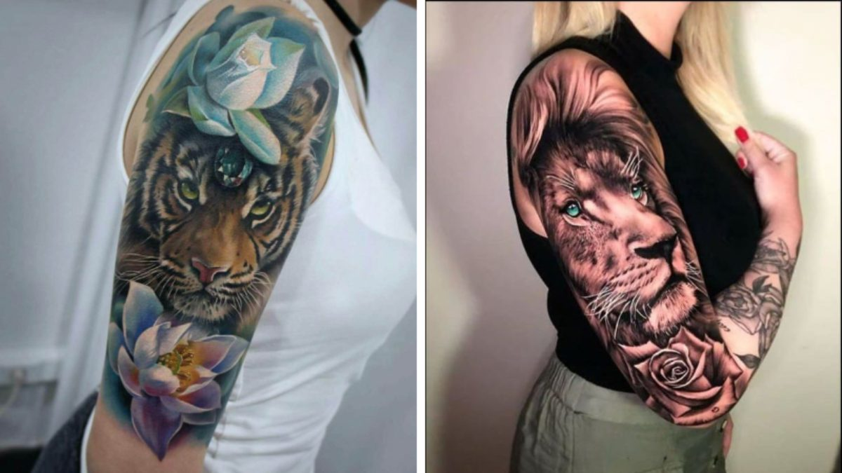 20 Amazing Sleeve Tattoos For Women In 20